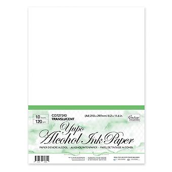 Couture Creations Yupo Paper Transparent A4 120gsm 10pc
