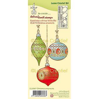 لين Creatief الطوابع واضحة -- الحلي عيد الميلاد