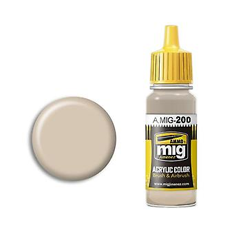 Ammo by Mig Acrylic Paint - A.MIG-0200 FS 33531 Middlestone (17ml)