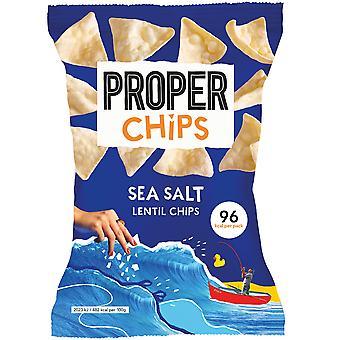 Proper Chips Sea Salted Lentil Chips