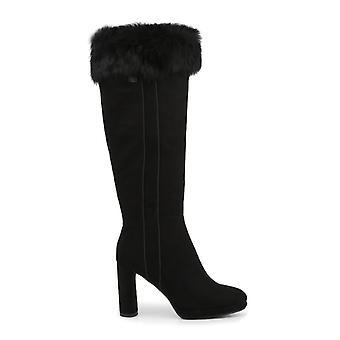 Laura biagiotti kvinder's sort stof syntetisk pels støvler