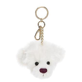 Charlie Bears Tiddly Pom Pom Anneau de clé flocon de neige 9 cm