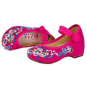 Old Beijing Embroidered Cloth Shoes For Kids