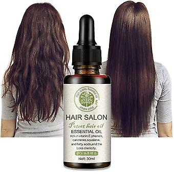 Óleo essencial de cuidados com o cabelo vegetal
