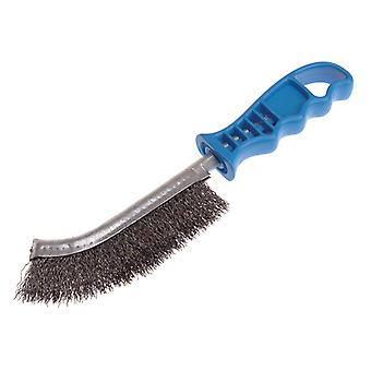 Lessmann Universal Hand Brush 260mm x 28mm 0.3 Crimped Steel Wire LES056301