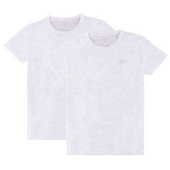 Gant 2 Pack Crew Neck T-Shirt - Vit/vit