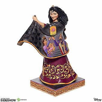 Mother Gothel with Rapunzel Scene Disney Traditions Figurine