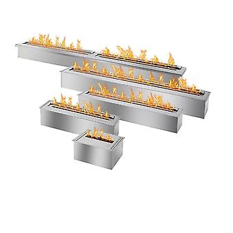 Stainless Steel Ethanol Fireplace, 48 Inch, Bio Camin