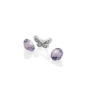 Anais hot Diamonds Anais Silber Schmetterling Charme AC112
