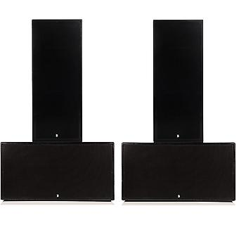Big gig rig 1 - passive 6400w rms twin 15 tops and twin 18 subwoofer pa system