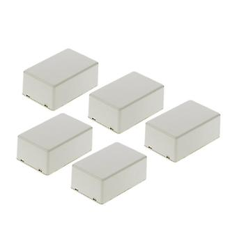 5pcs Plastic Electronic Project Box , Enclosure Instrument Case (70x45x30mm)