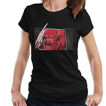 Austin Healey Ansicht der Sitze British Motor Heritage Frauen's T-Shirt