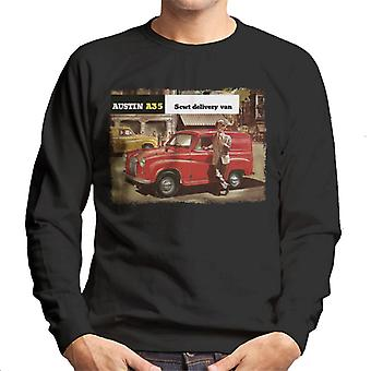 Austin A35 5cwt Delivery Van British Motor Heritage Men's Sweatshirt