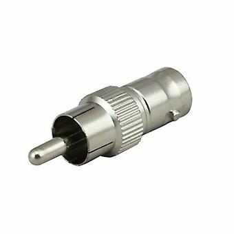 RCA Male to BNC Female Jack Adapter Coax Connector Coupler for CCTV Camera