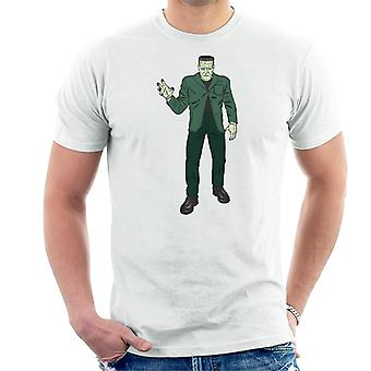 Frankenstein Monster Pose Illustration Men's T-Shirt
