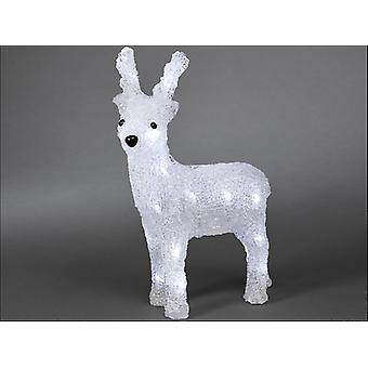 Konstsmide Acrylic Reindeer 24LED 23cm 6158-203