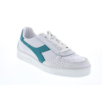 Diadora B. Elite  Mens White Leather Lifestyle Sneakers Shoes