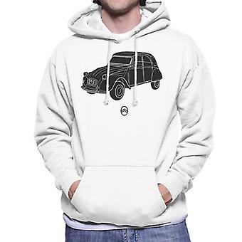Citro?n 2CV Angle For Light Men's Hooded Sweatshirt