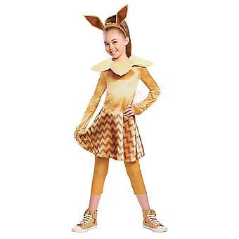 Girl's Eevee Deluxe kostým