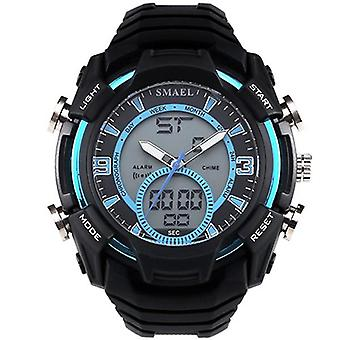 SMAEL 1349 Stopwatch Men Sport Watch Waterproof Double Display Digital Wrist