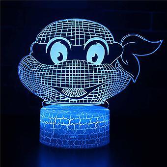 3D Touch Light Night 7 couleurs avec télécommande - Style #505