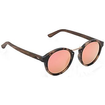Take a Shot Rhea 2.0 Sunglasses - Havanna Brown/Pink