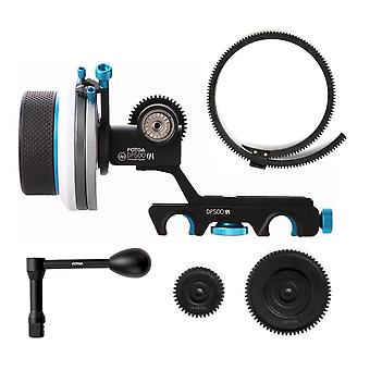 Fotga upgraded dp500 mark iii quick release dampen follow focus a/b hard stop for 15mm rods rig fit