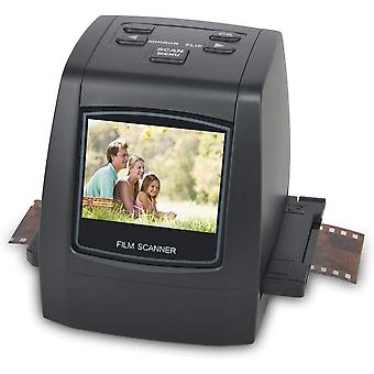 22MP Film & Slide Scanner All-In-1,Super 8 Film,110/126 Film,35mm Negative/Slide