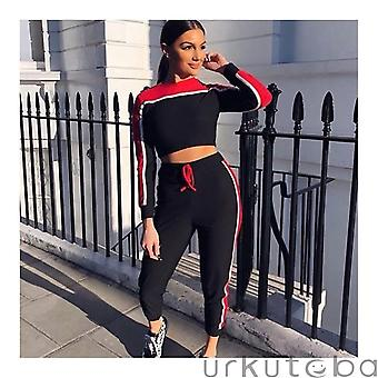 Casual Women's Survêtement Tights Sportswear Fitness Suit Vêtements