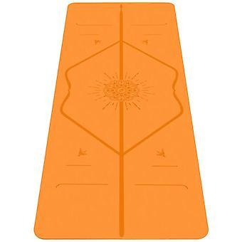 Liforme Travel Yoga mat, Patented Alignment System, Warrior-like Grip, Non-slip