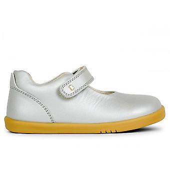 BOBUX Mary Jane Shoe Silver