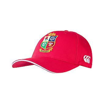 Canterbury British & Irish Lions Rugby Baseball Cap | Red | 2021 | Adult