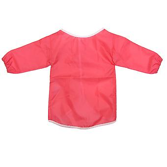 Childrens kids toddler waterproof play apron - painting, baking, cooking, smock - age 2-4 years - pi