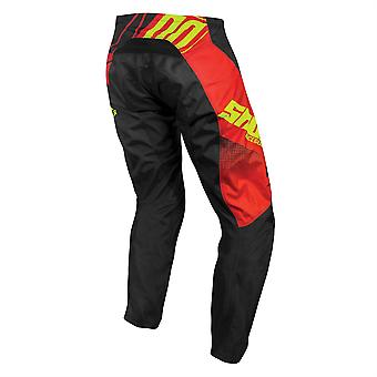 2020 Shot Devo MX Pants Adult - Ventury Red Neon Yellow