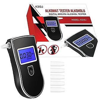 Alcohol tester - met 5 mondstukjes - tot 0,99 mg