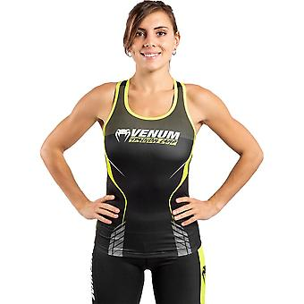 Venum Training Camp 3.0 Femmes Dry Tech Tank Top Noir/Neo Jaune