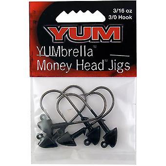 YUM Baits YUMbrella Money Head Fishing Jigs - 1/4 oz