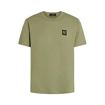 Belstaff Short Sleeved T-shirt Army Green