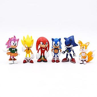 Sonic Figures Pvc Toy, Shadow Tails Characters Figure