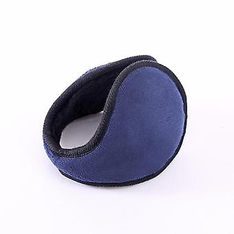 Winter Plush Warm Earmuffs Unisex Solid Color Earmuffs/women