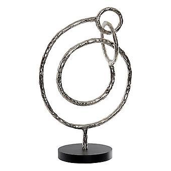 Dekorativ figur Dekodonia Aluminium (31 x 49 cm)