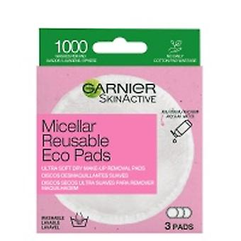 Garnier Micellar Reusable Eco Pads 3