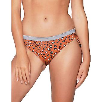 LingaDore Striped Cheetah 6102B-113 Women's Animal Print Bikini Bottom