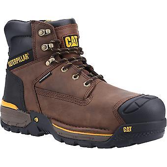 Caterpillar unisex excavator dantelă până de siguranță excursionist boot espresso