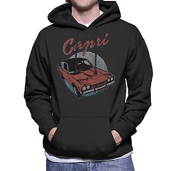 フォード レッド カプリ メン &アポ;s フード付きスウェットシャツ