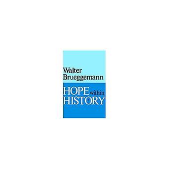 Hope within History-tekijä Walter Brueggemann - 9780804209182 Kirja