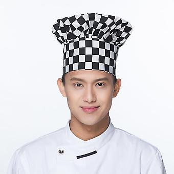 High Quality Top Restaurant Chef Kitchen Workwear Prints Hotel Waiter Hats