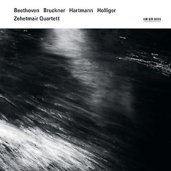 Zehetmair Quartett - Beethoven, Bruckner, Hartmann, Holliger [CD] USA import