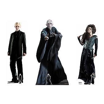 Harry Potter Villains Official Lifesize Karton Cutout Pack of 3