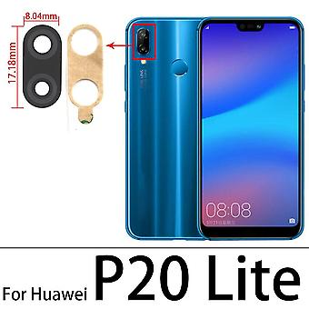 For Huawei P30 P40 P30 Lite P20 Pro Rear Back Camera Glass Lens Cover With